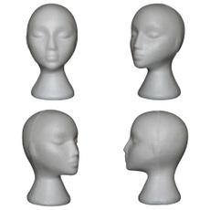 wig, Head, displaystand, Foam