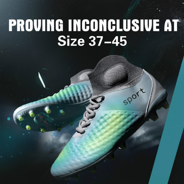 2584cb4ec38c High ankle men football shoes ling spike training football boots ...