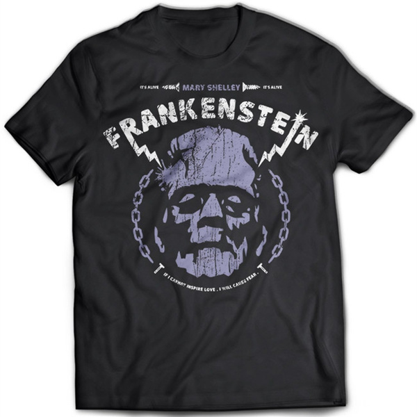 FRANKENSTEIN The Modern Prometheus DESIGN T Shirt