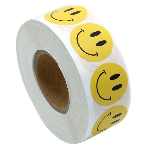 Home Decor, Stickers, cartoonsticker, Yellow