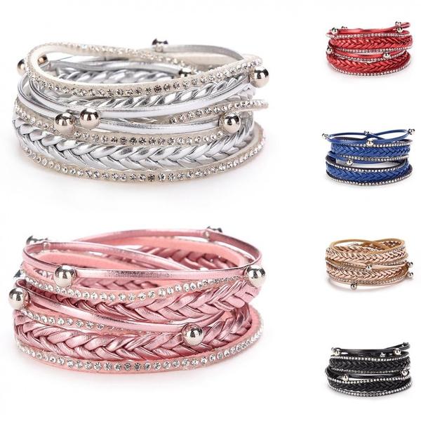 Charm Bracelet, dancebracelet, Jewelry, Multi-layer
