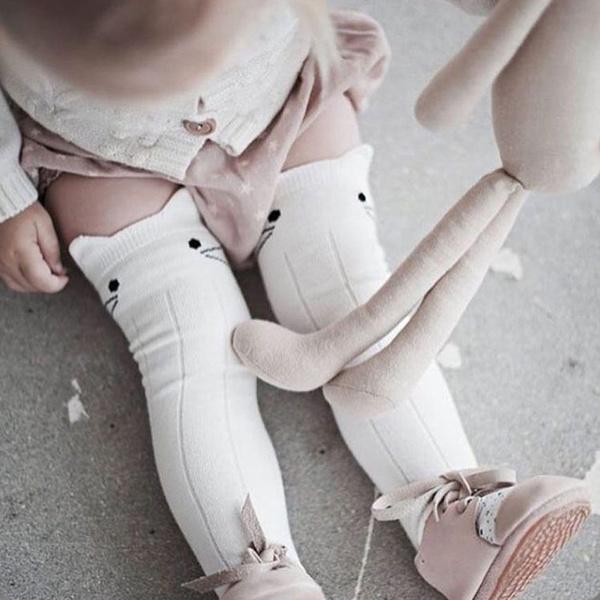 cute, Knee High, Socks, babykneehighsock