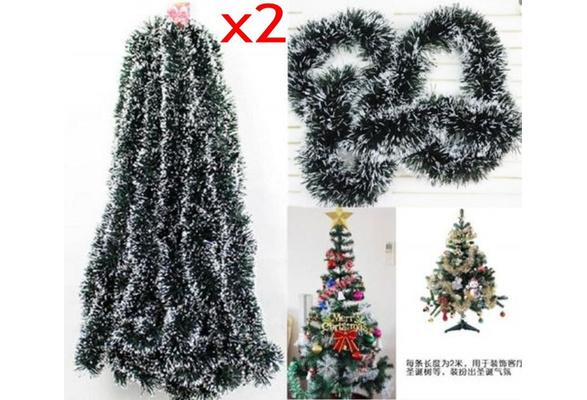 Lichterkette Deko Weihnacht Licht Weihnachtsgirlande Tannengirlande 2m