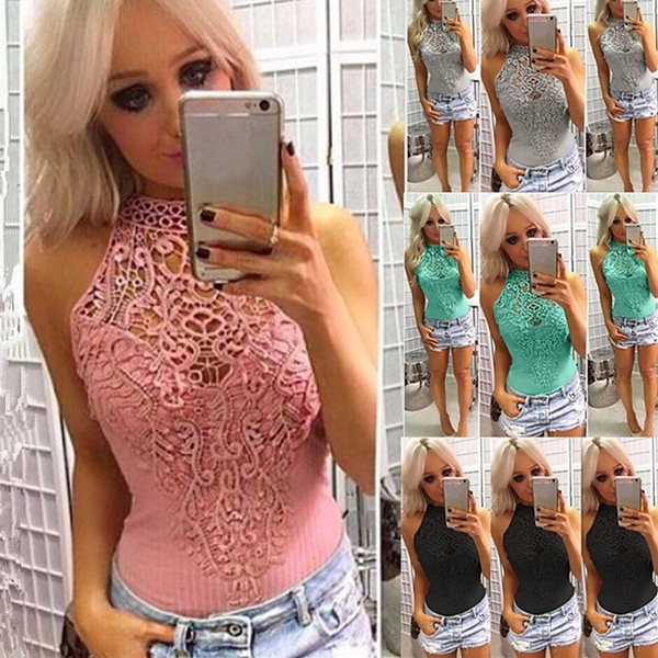Womens Ladies Bardot Frill Off Shoulder Lace Bodysuit Stretch Party Leotard Top