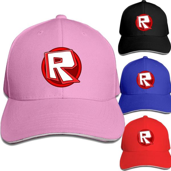 Roblox R Hats Mesh Baseball Caps Video Games Cap