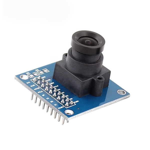 Gorgeous OV7670 300KP VGA Camera Module 640x480 3 3V SCCB W/I2C Lens CMOS  Auto Exposure Control Display Active For Arduino