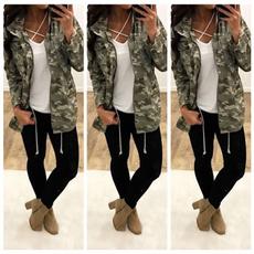 armygreen, Fashion, Sleeve, sleevecoat