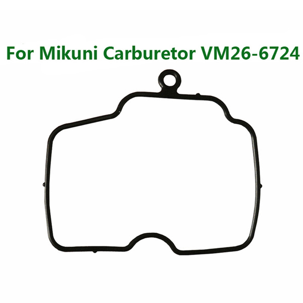 FishMotor Float Bowl Rubber Seal Gasket Kit For VM26-6724 Carburetor Pit  Dirt Bike Motorcycle ATV Quad 150cc 160cc 200cc 250cc