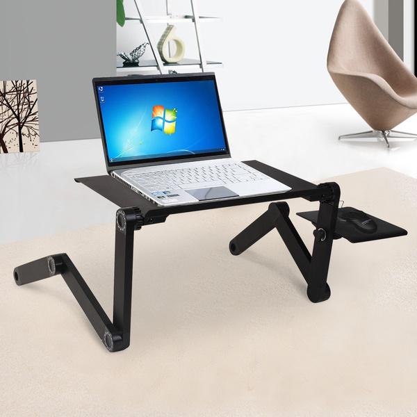Table Pour Ordinateur Portable 360 Table De Lit Support Reglable