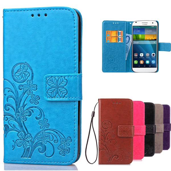new style c77da d0ddb Cover For Huawei Ascend G7 L01 L03 C199 Case Luxury Leather Flip Cover for  Coque Huawei G7 Phone Wallet Case With Card Slots