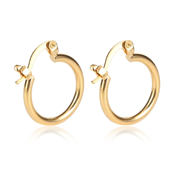 New Model Earrings In Gold