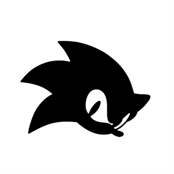 Reflective Originality Games Sonic The Hedgehog Car Stickers Car Styling Car Decal Removable Waterproof Stickers Wish