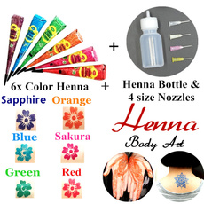 tattoo, henna, Beauty, Makeup Tools