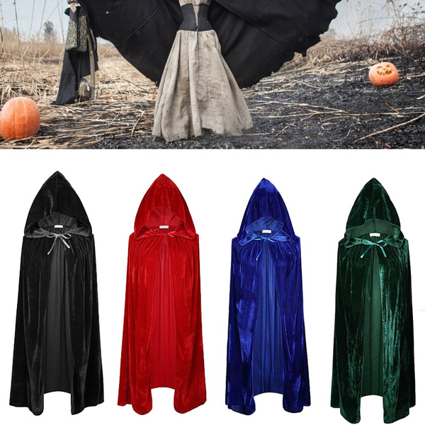 wish woman 170cm costumes hood halloween capes cloaks adult wizard witch party