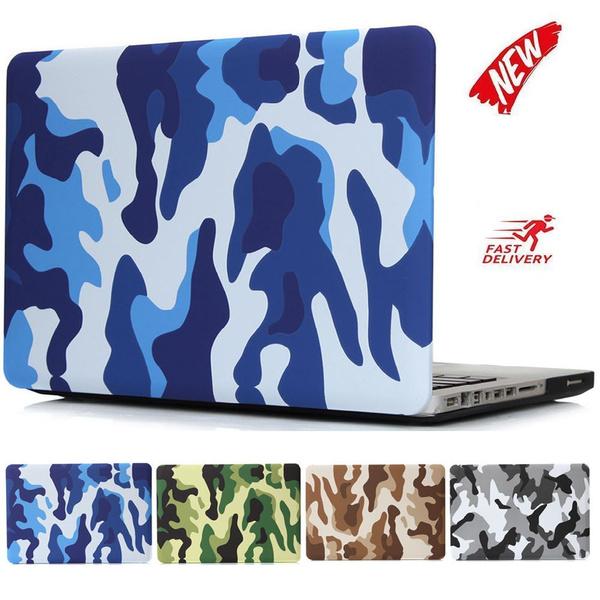 sale retailer c29b0 357fb Military Camouflage Hard Plastic Case For MacBook 12 Macbook Air 11/13  Macbook Pro 13/15 Retina 12 13 15 Case Protective Shell Rainbow+Free  keyboard ...