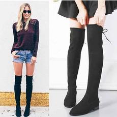 Flats, Fashion, Winter, Gray