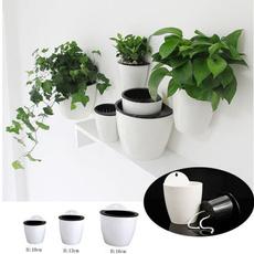 Plants, Flowers, selfwatering, Home & Living