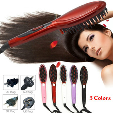 Beauty Makeup, Electric, Electric Hair Comb, Ceramic