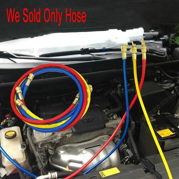 Hose R134a Air 60 Inches Car Air Conditioner Refrigerant Three Color Repair Kit Maintenance Tools