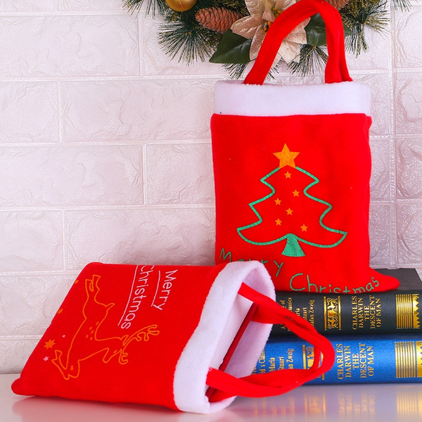 Christmas Articles.Handmade Christmas Gifts Bags Christmas Articles Candy Bags Book Bags Christmas Candy Gift Bags