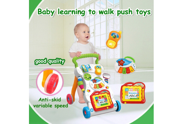 Wish Baby Multifunction Ride On Car Trolleys With Musical