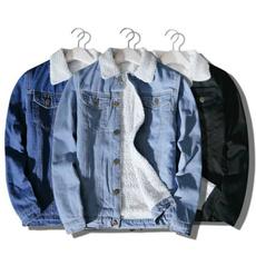menliningdenimjacket, Fashion, fur, Winter