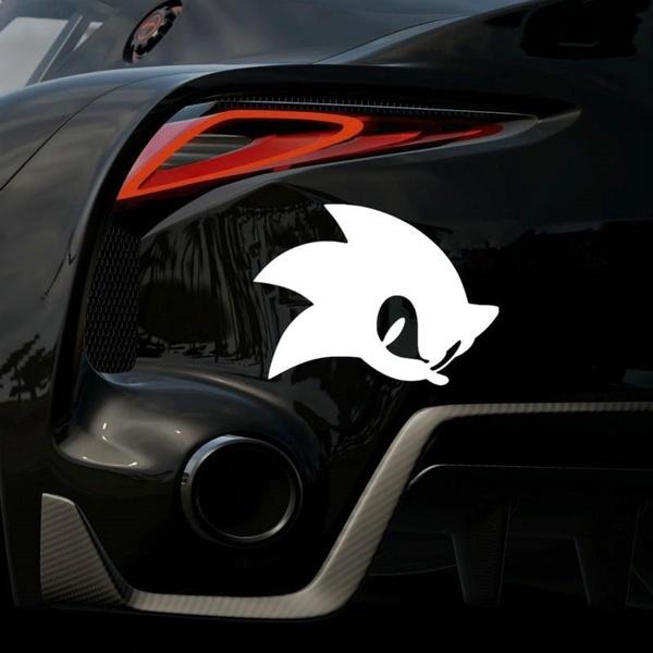 Sonic The Hedgehog Games Decals Label Car Cartoon Sticker Car Decals Mrct003e Wish
