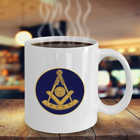 Symbol Cup Masonic Gifts Past Blue Coffee Master Mason Mug rsQBthdxC