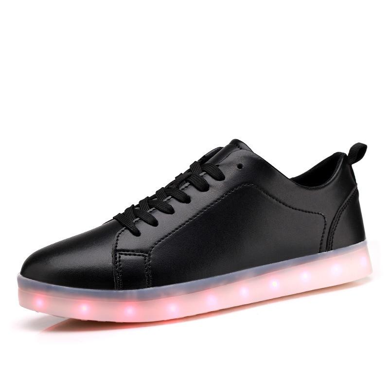 Femmes Pour Légères De Hommes Fluorescentes Chaussures Led Décontractées Usb Lumineuses Adultes Sport TlF1JcK