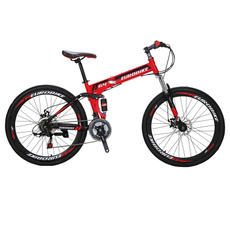 Dual Suspension Mountain Bike 21 Speed Shifting 26 Inch