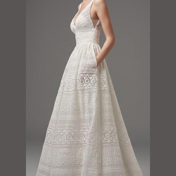 Wish | White Princess Dress Swing Dress Wedding Dress Evening Dress ...