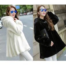jakcet, fur coat, fur, Winter