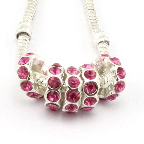 10pcsbead, silverbigholebead, Jewelry, retrotibetan