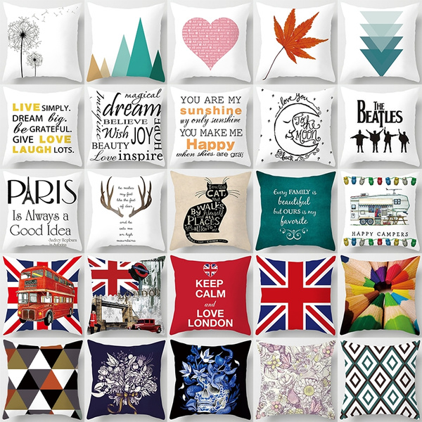 beddingpillow, Home Decor, sofacushioncover, Pillowcases