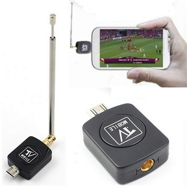 Just do it Micro USB Mini DVB-T HD TV Tuner Digital Satellite Dongle  Receiver For Phone TV Tune