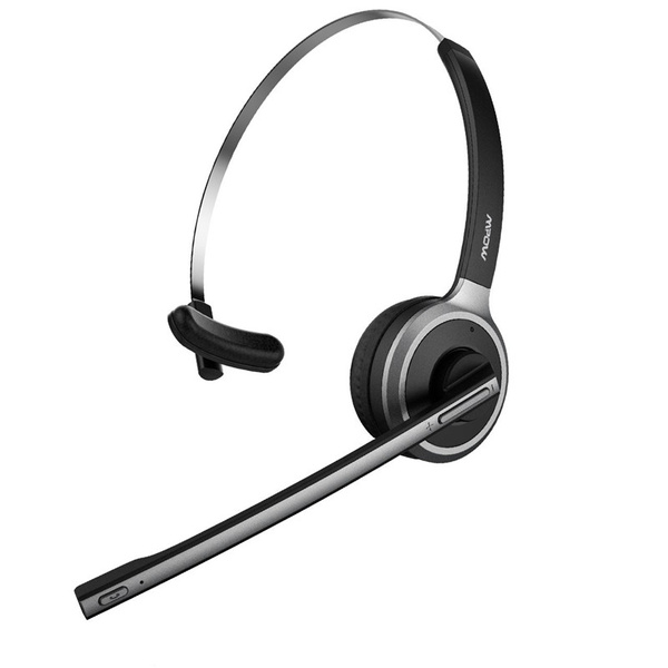 Mpow V4 1 Wireless Over Head Bluetooth Office Headset Truck Driver Headset With Noise Reduction Mic For Phones Voip Skype Call Center Wish