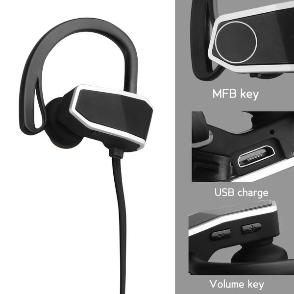 purchase cheap bf777 d7500 SENSO Bluetooth Headphones, Best Wireless Sports Earphones w/ Mic IPX7  Waterproof HD Stereo Sweatproof Earbuds for Gym Running Workout 8 Hour  Battery ...