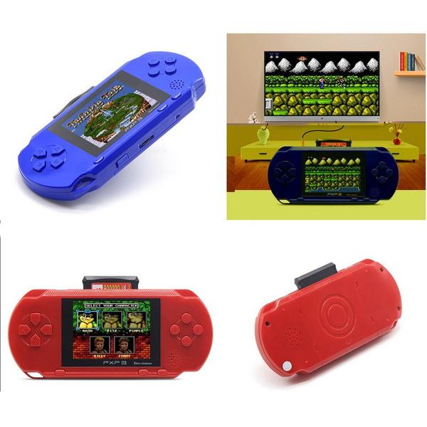 PXP3 PVP PSP Game Console Handheld funny Portable 16 Bit Retro Video Games  child