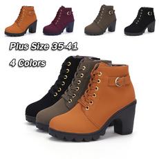 platformknightboot, Lace, Boots, Booties