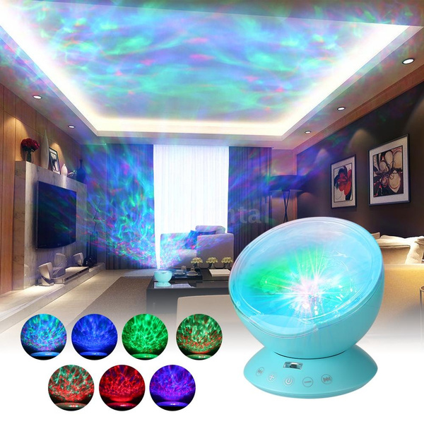 Blues, Mini, lights, projector