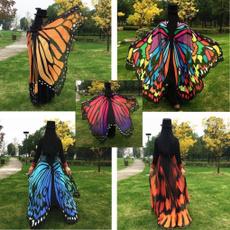butterfly, beachwrap, women scarf, Towels