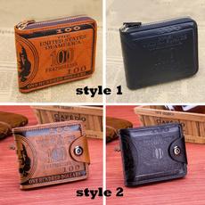 Fashion, foldablewallet, puwallet, leather