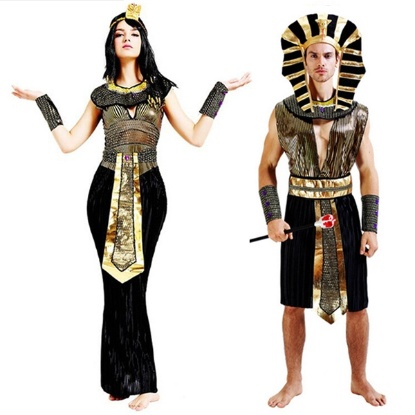 Halloween Party Kleding.Halloween Party Adults Clothing Egyptian Pharaoh Costumes Egyptian Pharaoh King Mens Fancy Dress Costume For Halloween