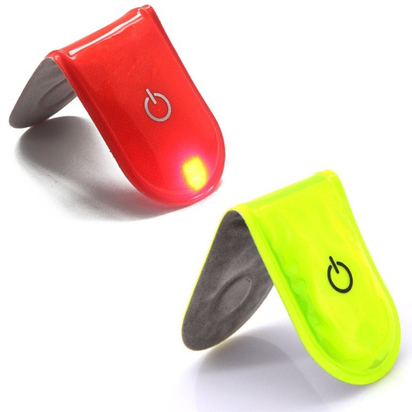 Safety LED Light Magnet Clip On Reflective Running Walking Bike Cycling New