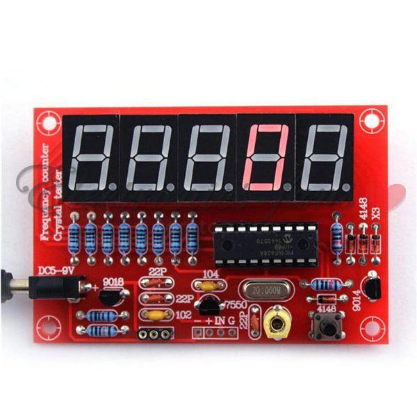 1 Stücke 1 HZ-50 Mhz Dds Kristall Oszillator Frequenzzähler Meter Digitale Le ip