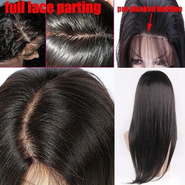 Wish Hot Sale 100 7a Brazilian Virgin Full Lace Human Hair Wigs