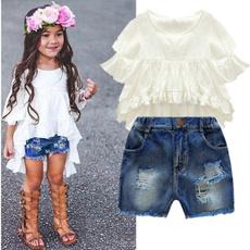 cute, Two-Piece Suits, Cotton, pants