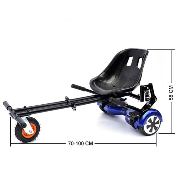 Wish   Newest Hoverkart Seat Hoverboard Go-kart Frame with Rolling ...