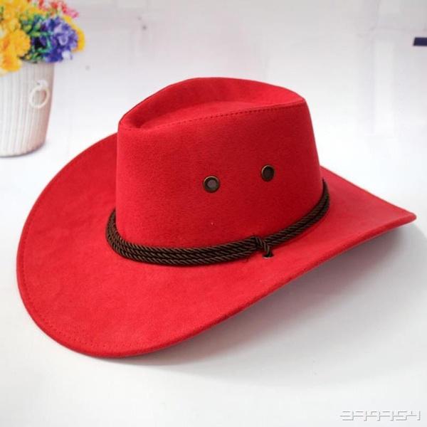 Wish   Western Cowboy Chapeau Hommes Équitation Cap Accessoire De Mode À  Larges Bords Crushable Sertissage Gift Western Cowboy Hat Ocidental  Vaqueiro Chapéu ... 90834d01067