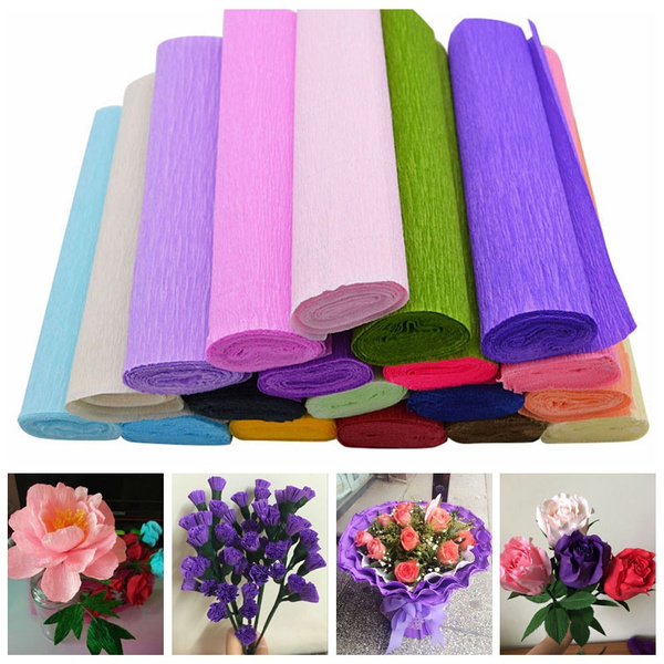 Flowers, wrappingpaper, Craft Kits, Handmade
